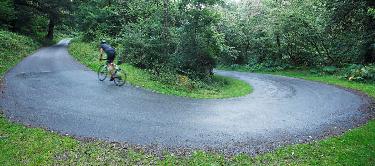 Cyclist Woods