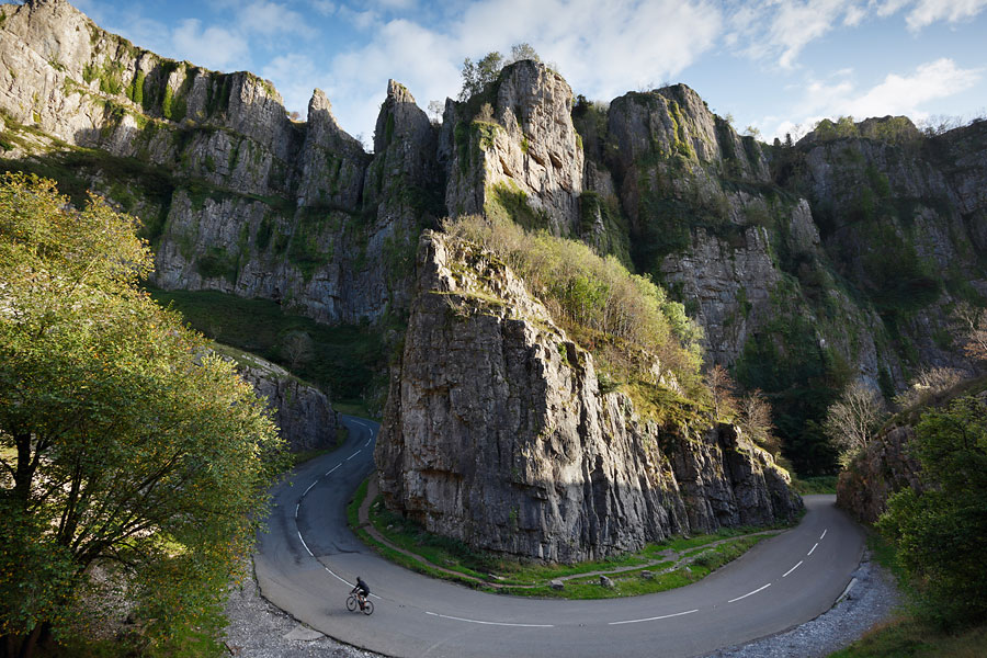 Cycling Cheddar Gorge
