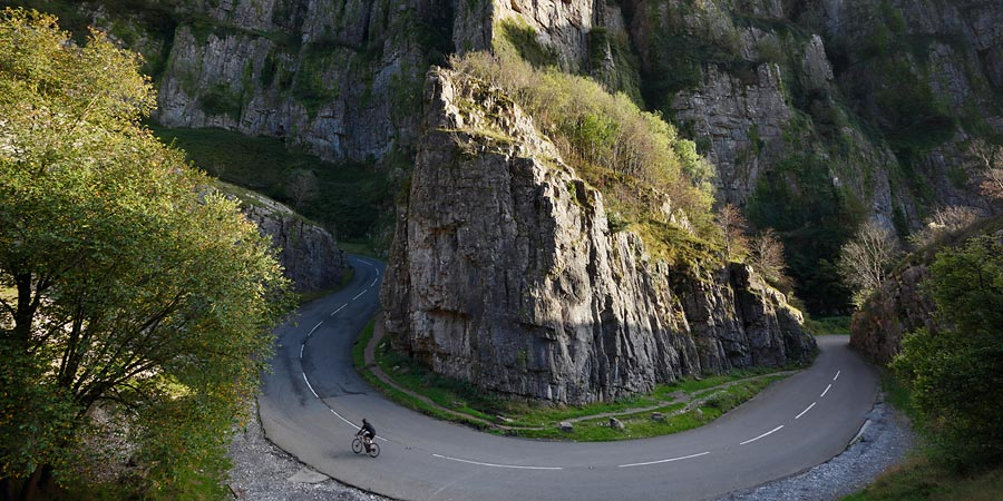 Cycling Cheddar Gorge