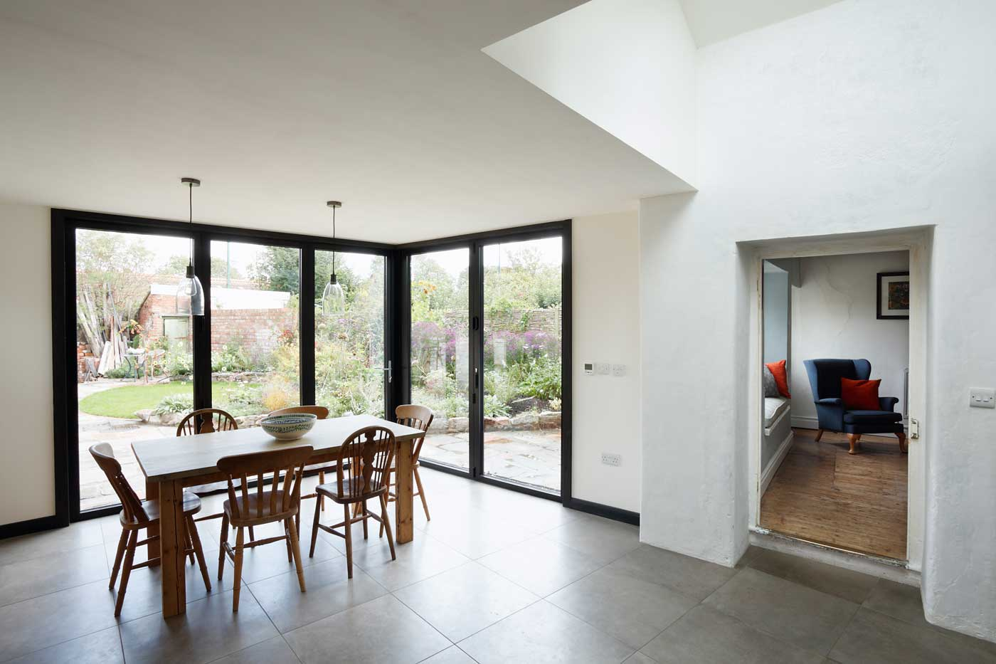 Modern extension interior